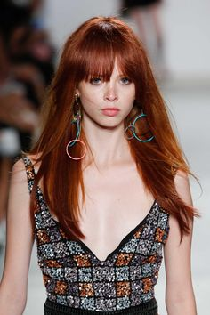 We're obsessed with dark red hair colors this year. The depth of dark red hair hues makes the fiery shade much easier to wear. | All Things Hair - From hair experts at Unilever