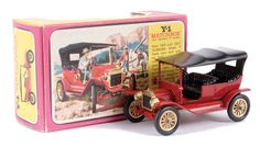 Matchbox Models of Yesteryear No.Y1-2 Ford Model T Car