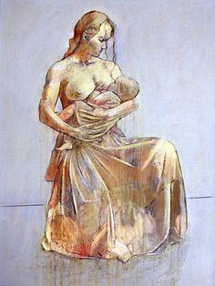 Madre e hijo Óleo sobre lienzo Autor: Philip Smeeton