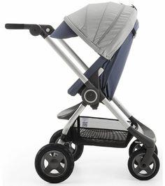 Stokke Scoot Stroller V2 Slate Blue Pushchairs Babies Pram Stocke Buggy Buggies #StokkeScootStroller