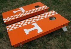 Tennessee Volunteers Cornhole Set  www.facebook.com/cornontheboard