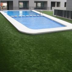 Artificial Grass Swimming Pools