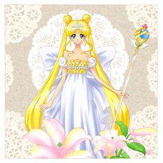 Neo Queen (Sailor Moon Crystal) by Sailor Moon Manga, Sailor Moons, Sailor Pluto, Sailor Moon Crystal, Sailor Moon Art, Sailor Jupiter, Neo Queen Serenity, Princess Serenity, Sailor Princess