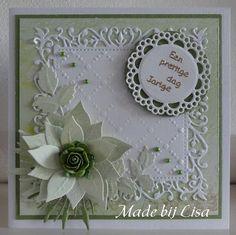 Voorbeeldkaart - Verjaardagskaart, - Categorie: Scrapkaarten - Hobbyjournaal uw hobby website Easel Cards, 3d Cards, Christmas Cards, Chloes Creative Cards, Advent, Friendship Cards, Die Cut Cards, Marianne Design, Mothers Day Cards