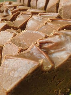 Chips Chocolate Factory -  Visiting @CrownCenter this weekend? Stop by for some of this fresh Chocolate Peanut Butter Kansas City Fudge...