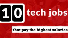 10 best tech jobs that pay the highest salaries Tech jobs dominate the top 10 jobs in America, in terms of salary, number of job postings, and opportunities for growth, according to a new report from job search engine Indeed. Read this article to find out. #ITJobs #TechJobs #SoftwareEngineers #TechManagers #Salary #HighestSalariesJobs #BestJobs #HighPaidJobs #America #DevOps #BestDevOps