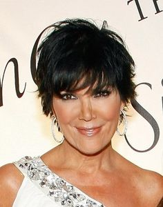 Kris Jenner-Layered-Short-Hairstyle
