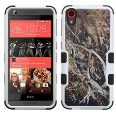 Insten Yellow/ Vines Tuff Hard PC/ Silicone Dual Layer Hybrid Rubberized Matte Case Cover For HTC Desire 626/ 626s