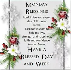 Good morning monday blessings and quotes to start this blessed week. Monday Morning Blessing, Monday Morning Humor, Today Is Monday, Good Morning Happy Monday, Special Good Morning, Good Morning Wishes, Good Morning Quotes, Funny Monday, Monday Monday