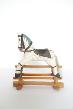 Vintage Rocking Horse / importanceofliving