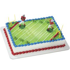 Touchdown . Football. Heb cake