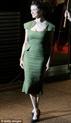 Roland Mouret.    One of our top inspirations for Michelle's wedding dress.