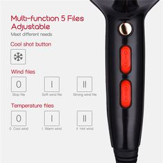 Professional Hair Dryer With Nozzle, Super Power Hair , Salon Styling Tools Hair Drier , Hot Cold Air Speed , Adjust Hair Blower. Hair Blower, Professional Hair Dryer, Deep Conditioning Treatment, Moisturize Hair, Fun Shots, Leave In Conditioner, Styling Tools, Bad Hair, Synthetic Hair