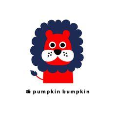 Lion, pumpkin bumpkin #illustration #painting #drawing #art #design