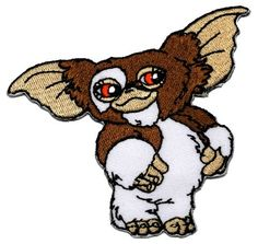 """2.8"""" x 3.3"""" Gremlins Film Movie DIY Embroidered Sew Iron on Patch Poly patch"""