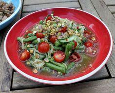 Som Tam Taengwaa (Laos Cucumber Salad)