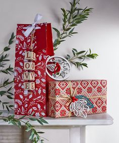 Add a keepsake to your gifts by adding a small bauble as an additional touch to your Christmas gift wrap this year.