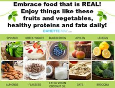 Real food makes a real difference!