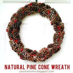 DIY Christmas wreath for $3
