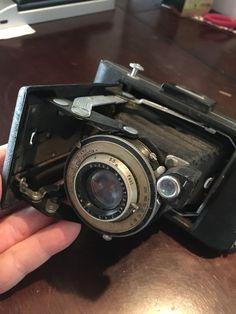 Vintage Eastman Kodak Black No1 Kodamatic  Folding Camera #Kodak