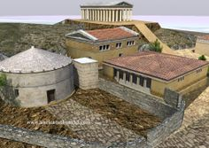 Tholos and old bouleuterion