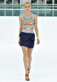 cute top.. and the skirt design.  Sass & Bide 2012