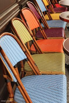 Paris chairs