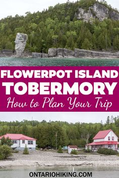 Flowerpot Island near Tobermory, Ontario is a natural wonder you need to see. I'll show you how to get to Flowerpot Island, how to go hiking there, the best things to do, and more. Tobermory Ontario   Flowerpot Island Tobermory   Fathom Five National Marine Park   Bruce Peninsula   Flowerpot Island travel guide   Tobermory Ontario itinerary   Things to do in Tobermory   Tobermory attractions   Places to visit in Ontario   Summer road trips Ontario   Ontario road trip ideas Tobermory Ontario, Flowerpot Island, Canada Travel, Usa Travel, Discover Canada, Canada National Parks, Canada Destinations, Visit Canada, Beautiful Places To Travel