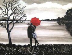 """Saatchi Online Artist Manjiri Kanvinde; Painting, """"Bound by Love"""""""