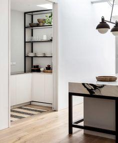 Butler Pantry, Shelving, Bookcase, Kitchen, Home Decor, Houses, Street, Pantry Room, Shelves