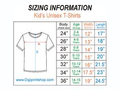 Patron T Shirt, Baby Boy T Shirt, Baby Groot, Kids Shorts, Image House, Boys T Shirts, Size Chart, Unisex, Size 10