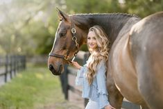 """Melina and her warmblood gelding, Caraszini """"Zini"""" at Salt Creek Stables in Tampa, Florida. Horse Senior Pictures, Pictures With Horses, Horse Photos, Senior Pics, Horse Girl Photography, Farm Photography, Animal Photography, Foto Cowgirl, Book 15 Anos"""