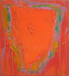 Visit us to license this and other works by John Hoyland. © Estate of John Hoyland. Abstract Images, Abstract Art, Patrick Heron, Modern Paintings, Painter Artist, Art Series, Modernism, Art And Architecture, Love Art