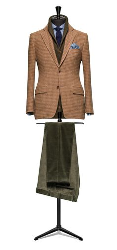 Brown jacket Houndstooth http://www.tailormadelondon.com/shop/tailored-jacket-fabric-7825-houndstooth-brown/