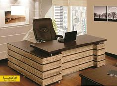 office furniture – My WordPress Website Small Office Design, Office Table Design, Office Interior Design, Office Interiors, Home Interior, Business Office Decor, Home Office Furniture Desk, Home Design, Home And Deco