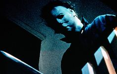 "HALLOWEEN (1978)  Sheriff: ""It's Halloween, everyone's entitled to one good scare.""      John Carpenter's psycho-killer classic spawned a number of feeble imitators...but the original still has you searching for somewhere safe to hide. Michael Myers escapes from an asylum and returns to his home town after 15 years to kill again.. Jamie Lee Curtis made an eye-catching big-screen debut and the suspense is racked up to breaking point thanks to ingenious camera shots around the rooms of a…"