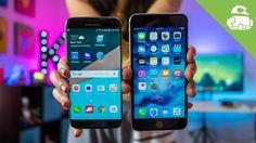 Samsung Galaxy S7 Edge vs iPhone 6s Plus - YouTube