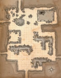 Dungeon, Room, Cave