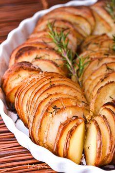Sliced Potato bake