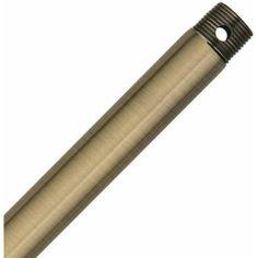 Hunter Fan Company 23190 60 inch Downrod, Antique Brass, Bronze