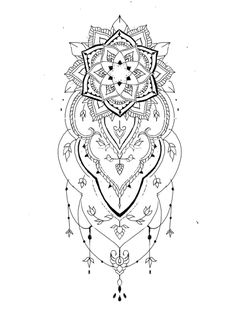 mandala design tattoo The Effective Pictures We Offer You About Tattoo Pattern blackwork A quality picture can tell you many things. You can find the most beautiful pictures that can be Ems Tattoos, Mommy Tattoos, Dream Tattoos, Body Art Tattoos, Thigh Tattoos, Mandala Tattoo Design, Design Tattoo, Henna Tattoo Designs, Henna Mandala