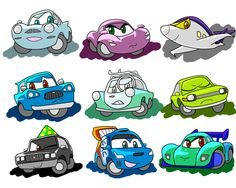 Disney Cars Movie, Disney Cars Party, Car Party, Cars Characters, Car Memes, Jungle Party, Architecture Tattoo, Lightning Mcqueen, Retro Cars