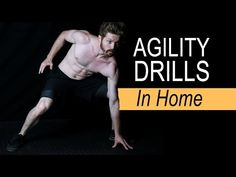 Top 3 Agility & Speed Drills (IN HOME) - YouTube