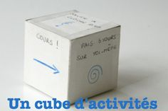 un cube d'activités jeu pour anniversaire Diy For Kids, Cool Kids, Crafts For Kids, Cubes, Spy Birthday Parties, Holidays And Events, Activities For Kids, Diy And Crafts, Education