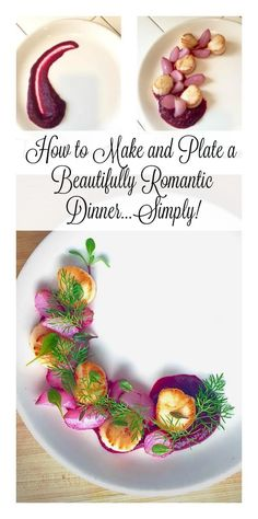How to make (and plate!) a beautifully romantic scallop dinner that's gluten-free and unbelievably delicious | Tasting Everything