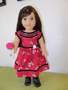 American Girl of the Year 2016  in Cecile's dress