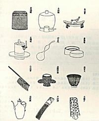 CHINESE TEA CULTURE:  Refers to the methods of preparation of tea, the equipment used to make tea and the occasions in which tea is consumed in China.    Tea drinking was popular in ancient China as tea was regarded as one of the seven daily necessities, the others being firewood, rice, oil, salt, soy sauce, and vinegar. Tea culture in China differs from that of Europe/Britain/Japan in such things as preparation methods, tasting methods & the occasions for which it is consumed.