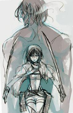 124 Best Eren Mikasa Images On Pinterest Eren And Mikasa