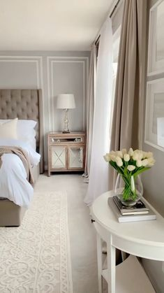Modern Luxury Bedroom, Master Bedroom Interior, Room Design Bedroom, Bedroom Furniture Design, Home Room Design, Luxurious Bedrooms, Bedroom Decor, Bedroom Curtains, Bedroom Ideas