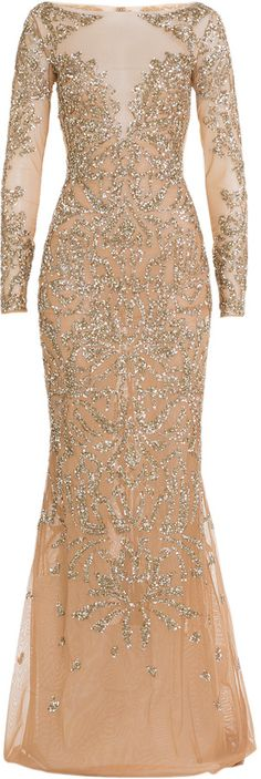 CHY FASHION FINDER.: Zuhair Murad Embellished Floor-Length Gown by Mura...